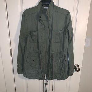 BP Green Military Jacket